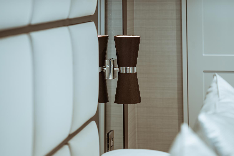 Private Residence, Durham Bedroom Light Detail